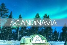 Scandinavia Travel / Travel inspiration and guides for Norway, Sweden and Finland. Tips for seeing the northern lights and visiting major cities such as Oslo, Bergen, Stockholm and Helsinki.