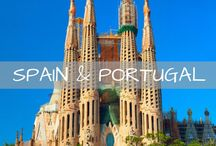 Spain & Portugal Travel / Travel guides and inspiration for Spain and Portugal. Tips for Barcelona, Madrid, Seville, Cascais, Lisbon, Sintra, Porto and more.