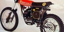 Motos clásicas de campo /  enduro y cross vintage