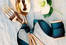 Table settings / Table ideas & inspiration. #tablescapes #weddingdecor #weddingdetails #tablesetting