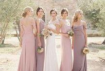 Bridesmaids / Ideas for beautiful #bridesmaids #bridesmaiddresses #weddinghair #weddingcolours #weddingstyle #weddingdetails #weddinginspiration