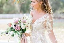 Romantic { On Trend } / Wedding trends are seeing a BIG return to what weddings are all about ❤️#love #romance #romantic #truelove #romanticwedding #weddinginspiration #weddingstyle #weddingdecor #weddingdetails