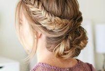 Hairstyles / Beautiful Hairstyles #hairstyles #hairdeas #trends #updos #braids