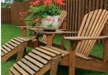 Outdoor Wood Projects / Some cool ideas for outdoor wood projects. Backyard projects for furniture, decks, and whatever else I find.