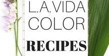 L.A. Vida Color Recipes / Food & drink recipes, easy dinner ideas
