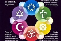 Comparative Religion / All the religions have themes in common. Perhaps by seeing how we are similar can help us also accept how we are different. Understanding breeds tolerance and the world can always use a little more of that.