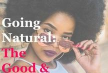 Natural Hair Advice / Everything you need to know about your natural hair.