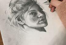 My sketches. Pencilwork
