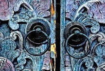 portals  ღ / Doors & Windows & Knobs ~ Portals to another place.....   ღ