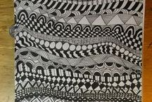 CC - Drawing/Zentangles / by Susan Rusen