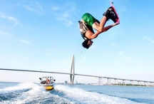 wake * up ღ / Wakeboarding is probably the only sport I can do a decent job with....  I respect those who excel in the sport because it is an art and a skill....