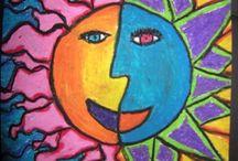 Sun, Moon & Stars / by Susan Rusen