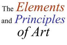 CC - Elem. & Principles / by Susan Rusen