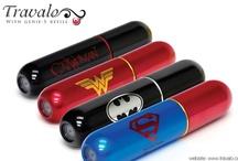 Travalo - Justice League Editions
