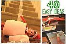Elf On The Shelf Ideas / by A Thrifty Mom