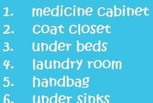 OCD .... Organization / by C. Sinnott
