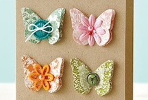 BUTTERFLYS / Please pop by my blog: http://www.charitycrafter.blogspot.com or say hi to charitycrafter on facebook / by ♪♫♥ CHARITY CRAFTER ♪♫♥