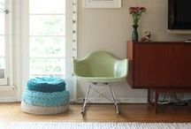 Taryn's New Living Room / paint colours + design inspiration