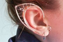 Ear Jewelery / Earrings, plugs, gauges, studs, cuffs, and all jewelry for the ear