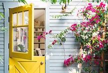 Home Color Inspiration / Because life is better in color, here are some creative ways for incorporating color throughout your home.