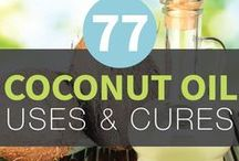 Natural Solutions / Coconut oil and other natural solutions and remedies / by Melissa Rohwedder