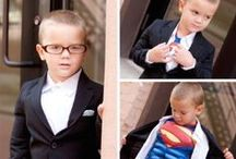 Superhero Photo Shoot / A kid, a costume and some imagination!!