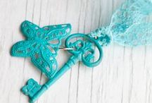 KEYRINGS AND HANGERS / Please stop by my blog; http://www.charitycrafter.blogspot.com  / by ♪♫♥ CHARITY CRAFTER ♪♫♥
