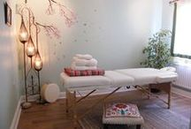 Treatment Rooms / inspiring treatment rooms for wellness practitioners