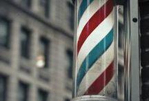 Barber Shop Inspirationen / Zwischen unseren Barber Shop Inspirationen kannst du dich von den Barbiers dieser Welt inspirieren lassen! Neben Rasiermessern und Rasierpinseln findest du hier außerdem coole Männerfrisuren!