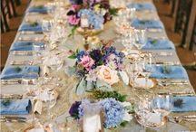 French Blue / Inspiration for a blue themed wedding