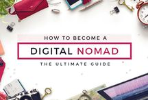 Digital Nomads / The Best Tips for Digital Nomads | Top Digital Nomads Tips | Ideas for Travel Blogging | How to Become a Digital Nomad | How to Find Remote Work | Finding Work Abroad | Start Working from Abroad | Inspiration for Lifestyle Shift | Ditch the 9-5 | How to Start Freelancing