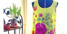 Blusas / Regatas e camisetas em voal toque de seda com artes sublimadas no tecido