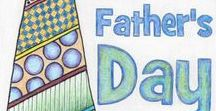 Father's Day / Fun things for kids to do for Father's Day! Crafts, printables, colouring as well as cool Father's Day gift ideas.