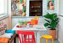 Interiors - Colors: Multicolor Ideas / #maximal design #bohemian #boho #gypsy
