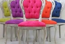Interiors - Furnitures: Seats, Sofas & Chairs / #seating, #armchair, #chair, #sofa