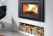 Interiors - Fireplace & Co. Ideas / #fireplace