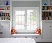 Interiors - Baywindows & Windowseat Ideas / #windowseat