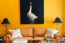 Interiors - Colors: Yellow Ideas / #yellow