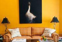Interiors - Colors: Yellow Ideas / #yellow