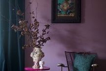 Interiors - Colors: Plum & Purple Ideas / #purple