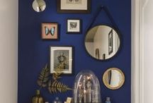 Interiors - Colors: Blue Ideas / #blue