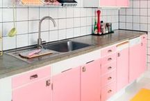 Interiors - Colors: Pink Ideas / #pink