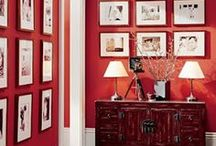 Interiors - Colors: Red Ideas / #red