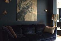 Interiors - Colors: Black Ideas / #black
