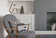Interiors - Colors: Grey Ideas / #grey