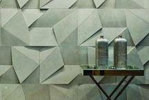 Interiors - Wall treatments & 3D Wall Ideas / #walltreatments