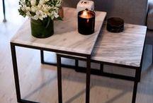 Interiors - Furnitures: Tables & Desks / #tables