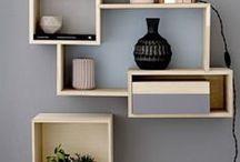 Interiors - Bookshelf & Shelving Ideas / #bookshelf