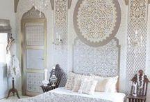 Interiors - Arabic Influenced Ideas / #arabic