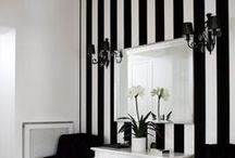 Interiors - Colors: Striped & Checkered Ideas / #striped